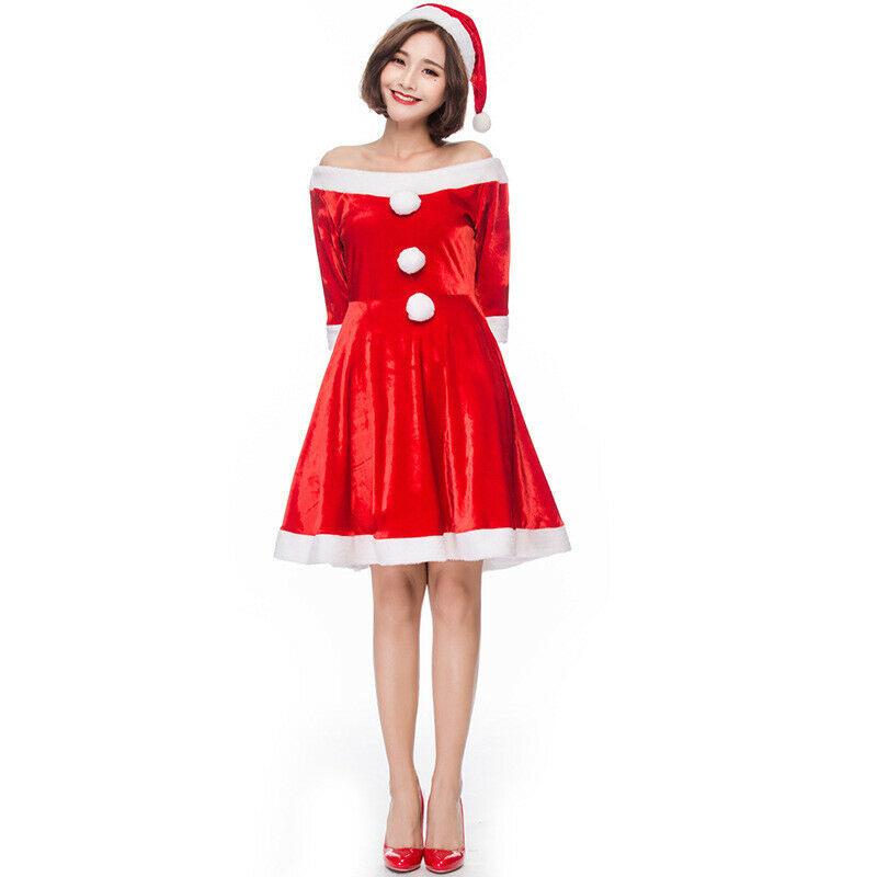 Weihnachtskostã¼M Damen Luxus Weihnachtskostüm Damen