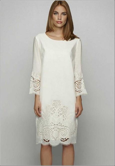 Weiße Damen Kleider