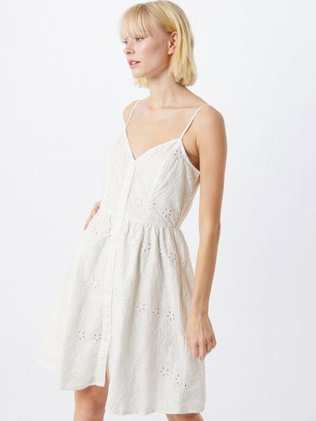 Weiße Sommerkleider Baumwolle