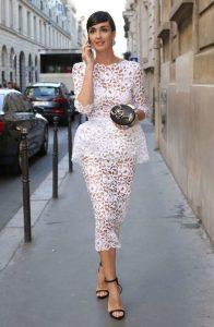 Weiße Sommerkleider Der Charme Und Die Weiblichkeit Der