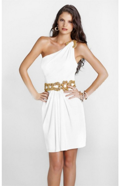 Weiße Sommerkleider Kurz