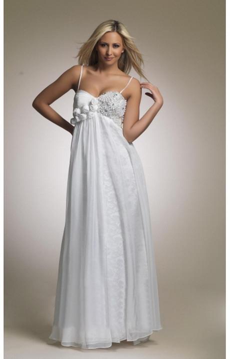 Weiße Sommerkleider Lang
