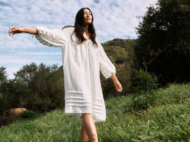 Weiße Sommerkleider Sind Ein Fashiontrend Im Sommer 2020