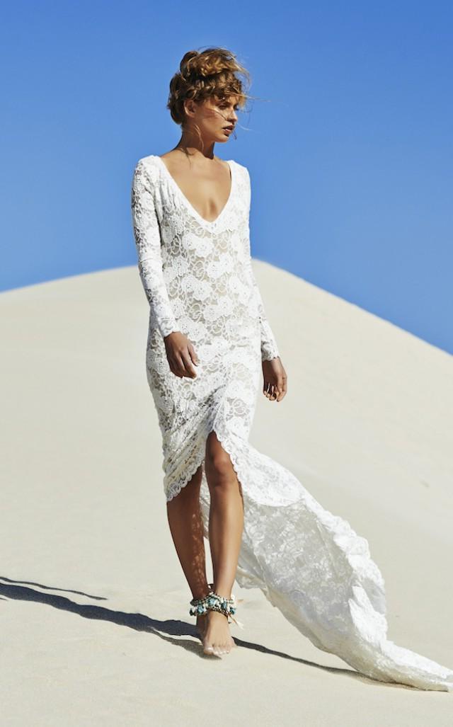 Weiße Spitzenkleider Diesen Sommer Zu Tragen  Frauen Mode