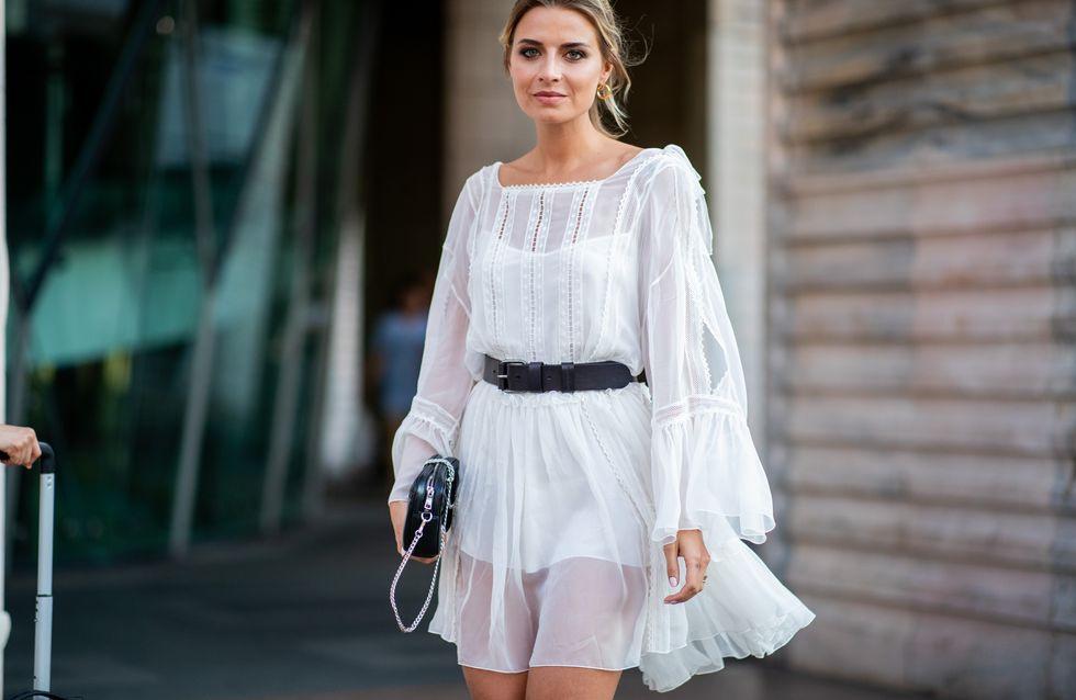 Weißes Kleid Lang Sommer