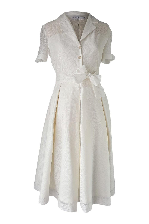 Weißes Kleid Midi  Abendkleider  Elegante Ballkleider