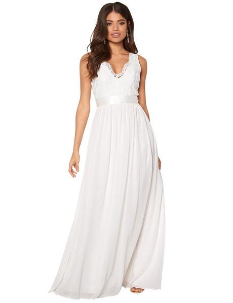 Weißes Kleid Mit Rückenausschnitt