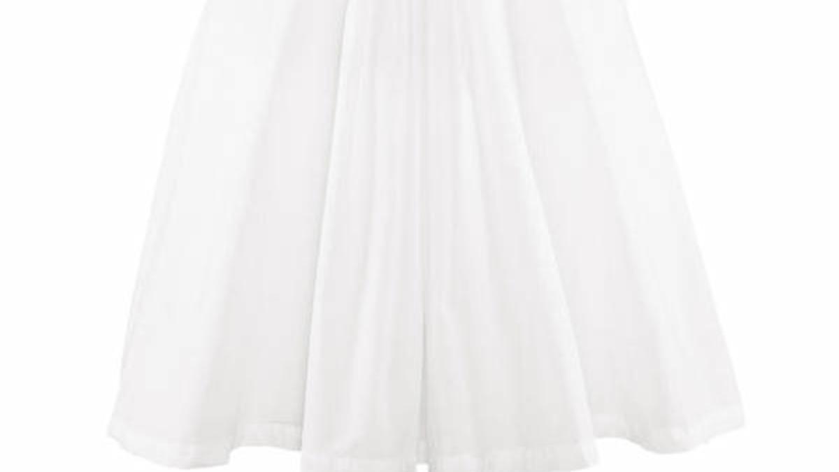 Weißes Marilynkleid Von Hm