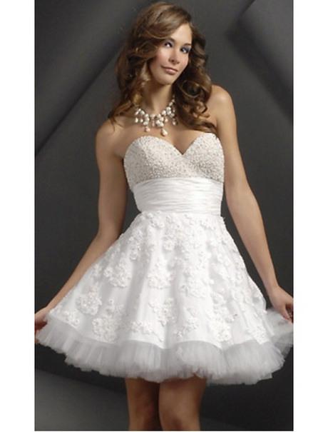 Weißes Sommerkleid Kurz