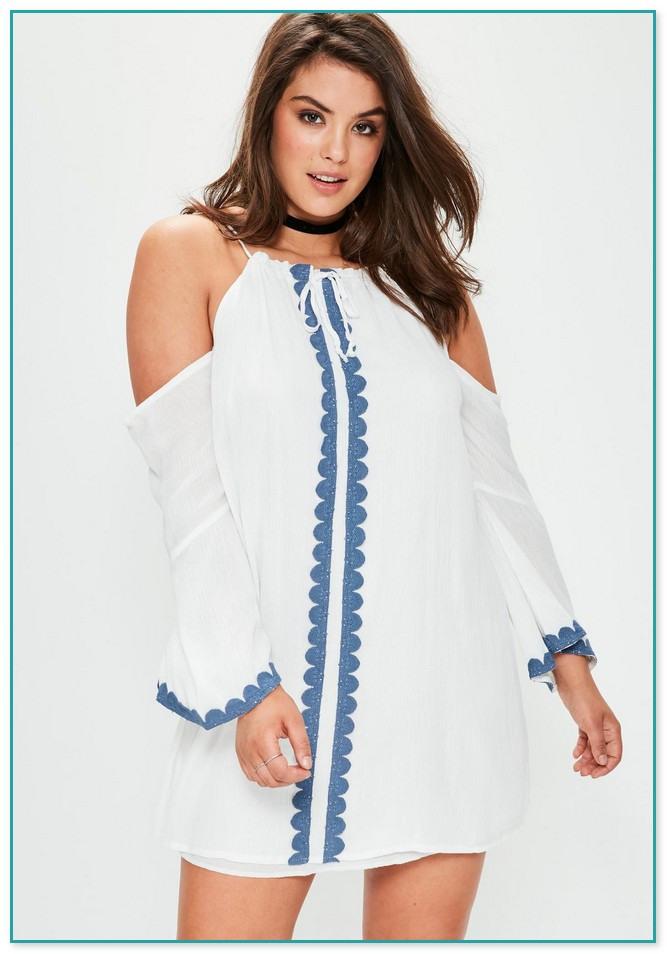 Weißes Sommerkleid Spitze 3