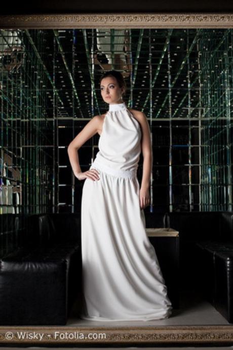 Weisse Abendkleider