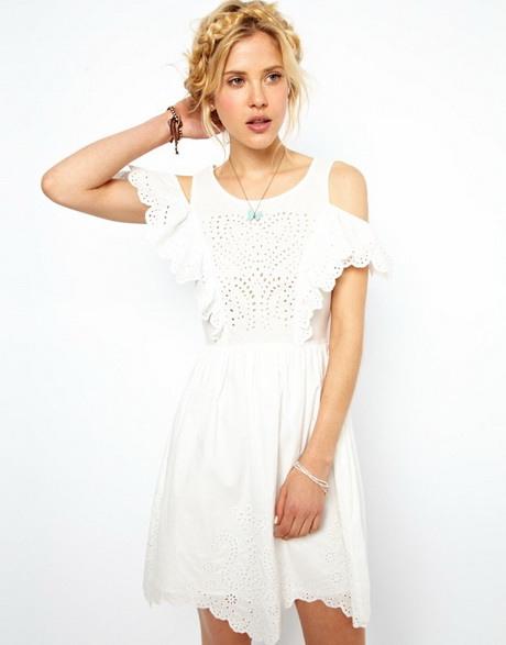 Weisse Sommerkleider