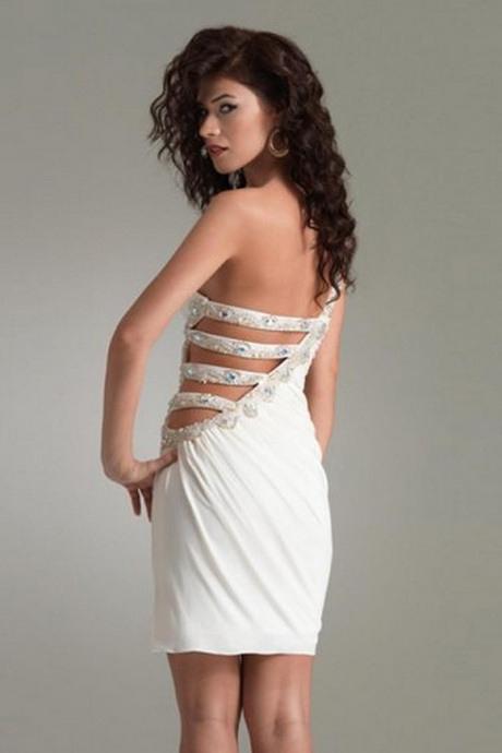 Weisses Kurzes Kleid