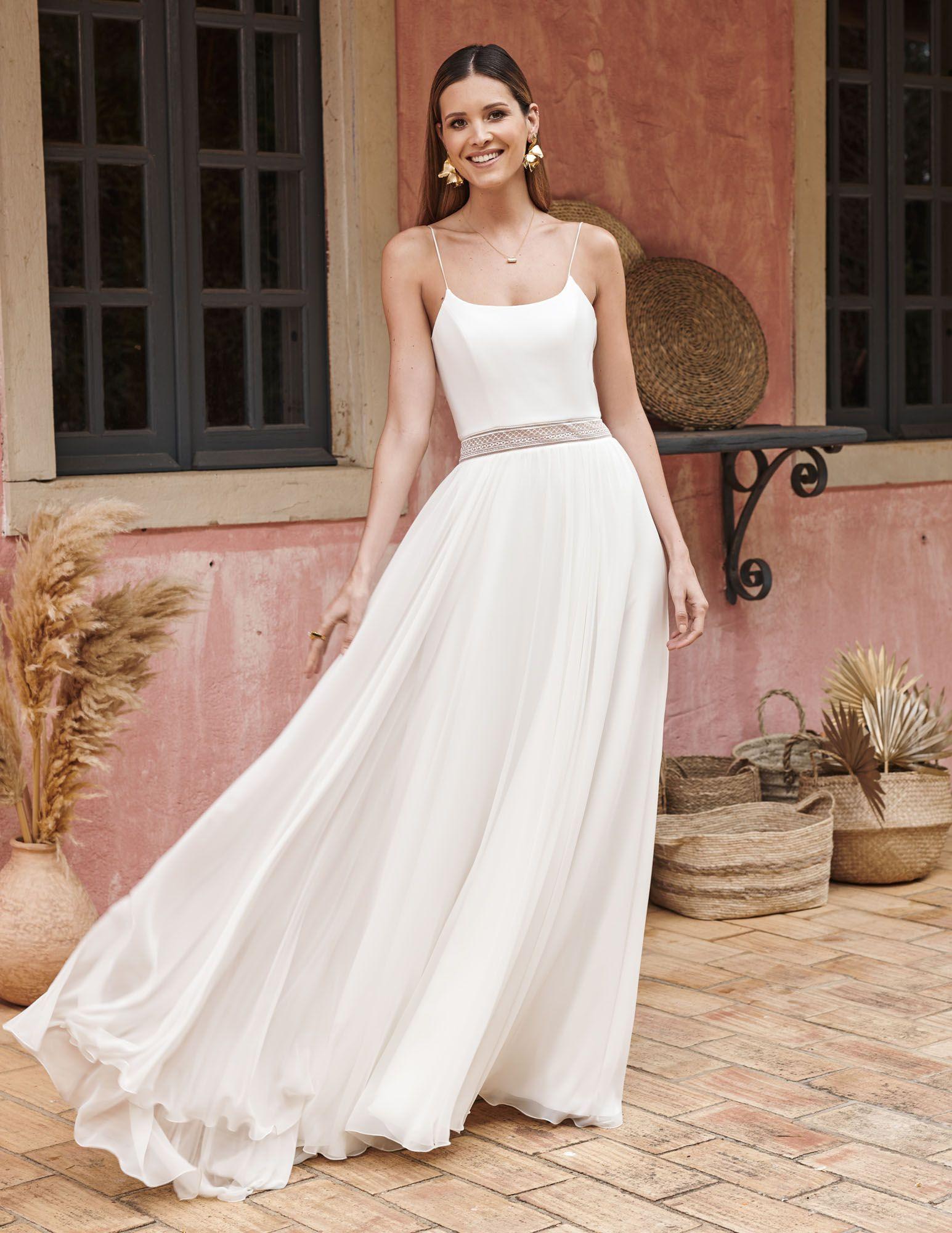 Weniger Ist Mehr Ein Einfaches Kleid Mit Trägern Und