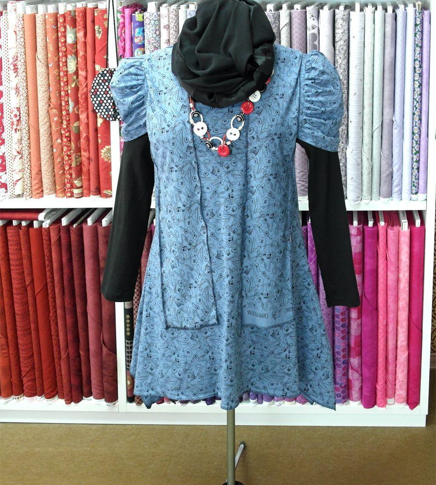Wer Einen Stoffladen Hat Sollte Auch Ein Kleid Mit