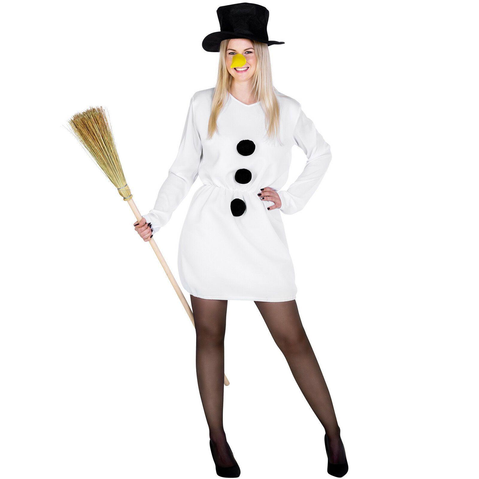 Werbung  Kostüm Schneefrau Kostüm Karneval Fasching