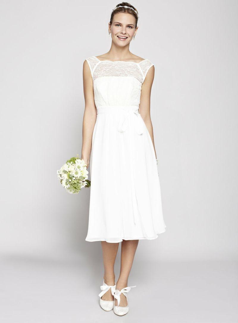 Wie Sieht Das Perfekte Kleid Für Standesamt Aus  Chiffon