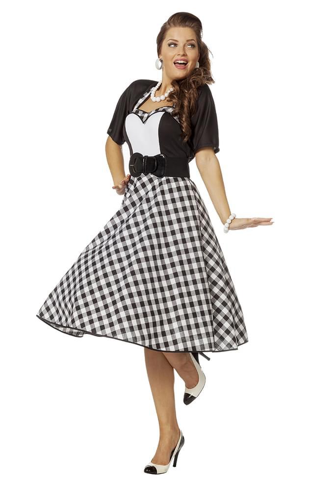 Wilbers  Wilbers 50Er Jahre Kleid Kostüm Rock N  Realde