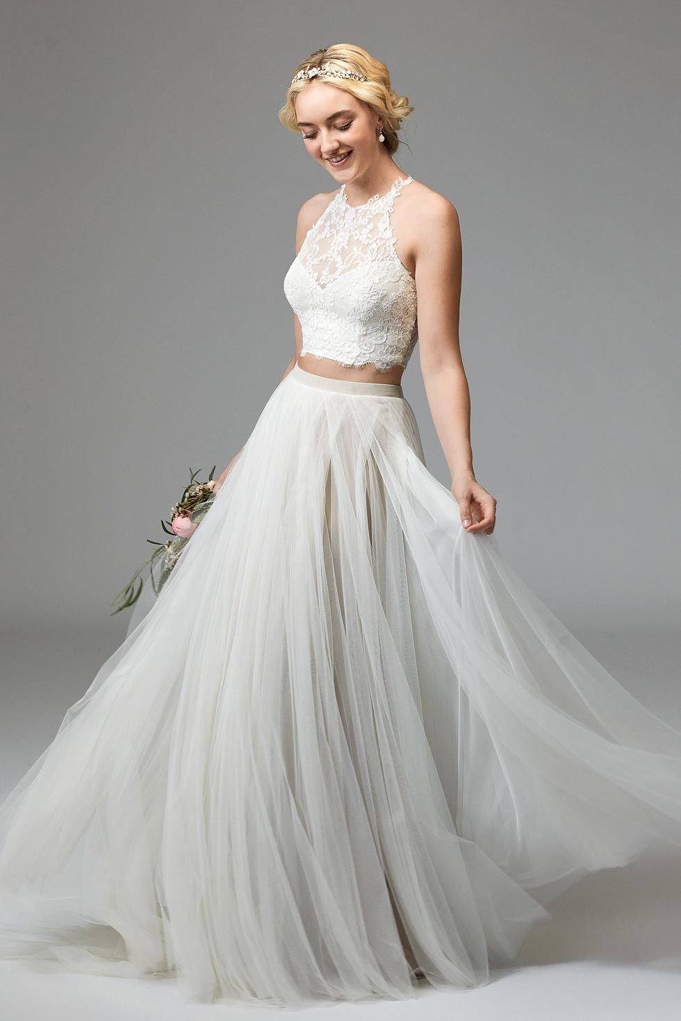 Willowby Brides  Brautkleid Rückenfrei Brautmode