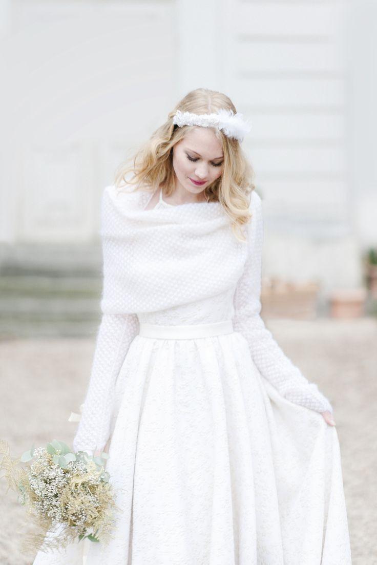 Wintertraum Braut Inspiration Hochzeitskleid Von Marianna