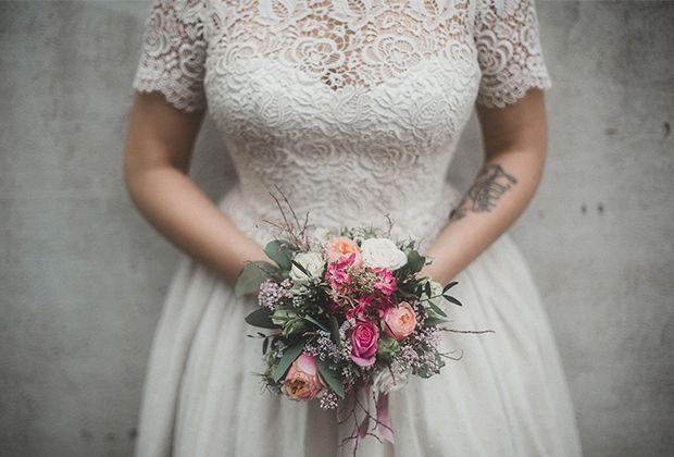 Wir Haben Ja Gesagt…  Kleid Hochzeit