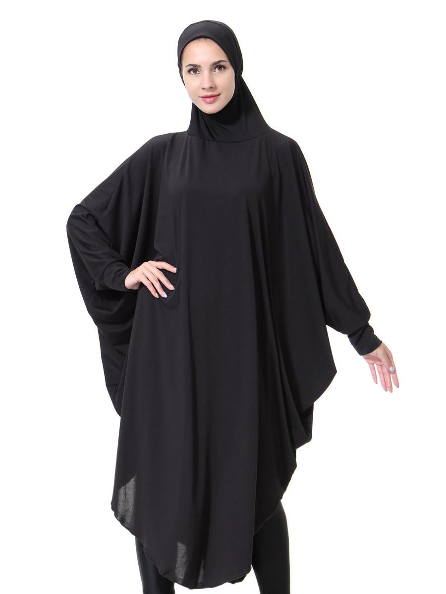 Women Abaya Dress Hijab Long Dress Muslim Beading Kaftan