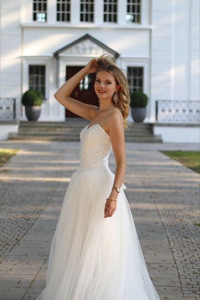 Wow Traumbrautkleid Hochzeitskleid Neu In Allen Größen