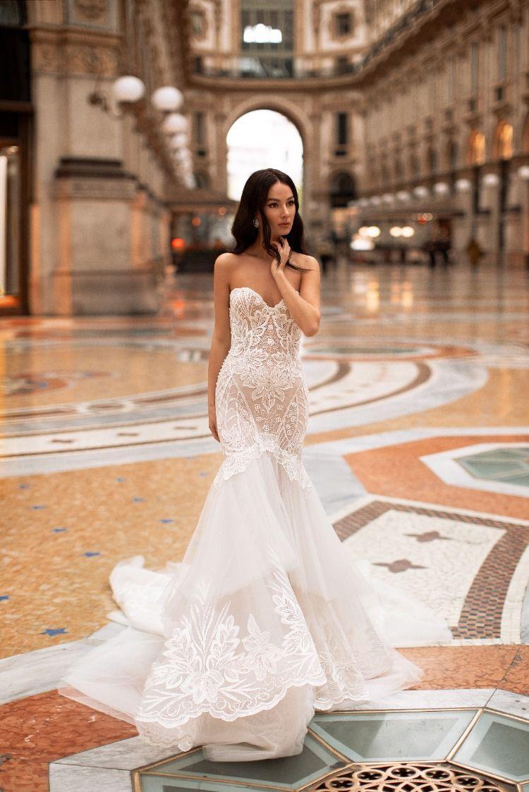 Wow Wow Wow 🔥💖 Wunderschönes Meerjungfrauen Brautkleid Mit