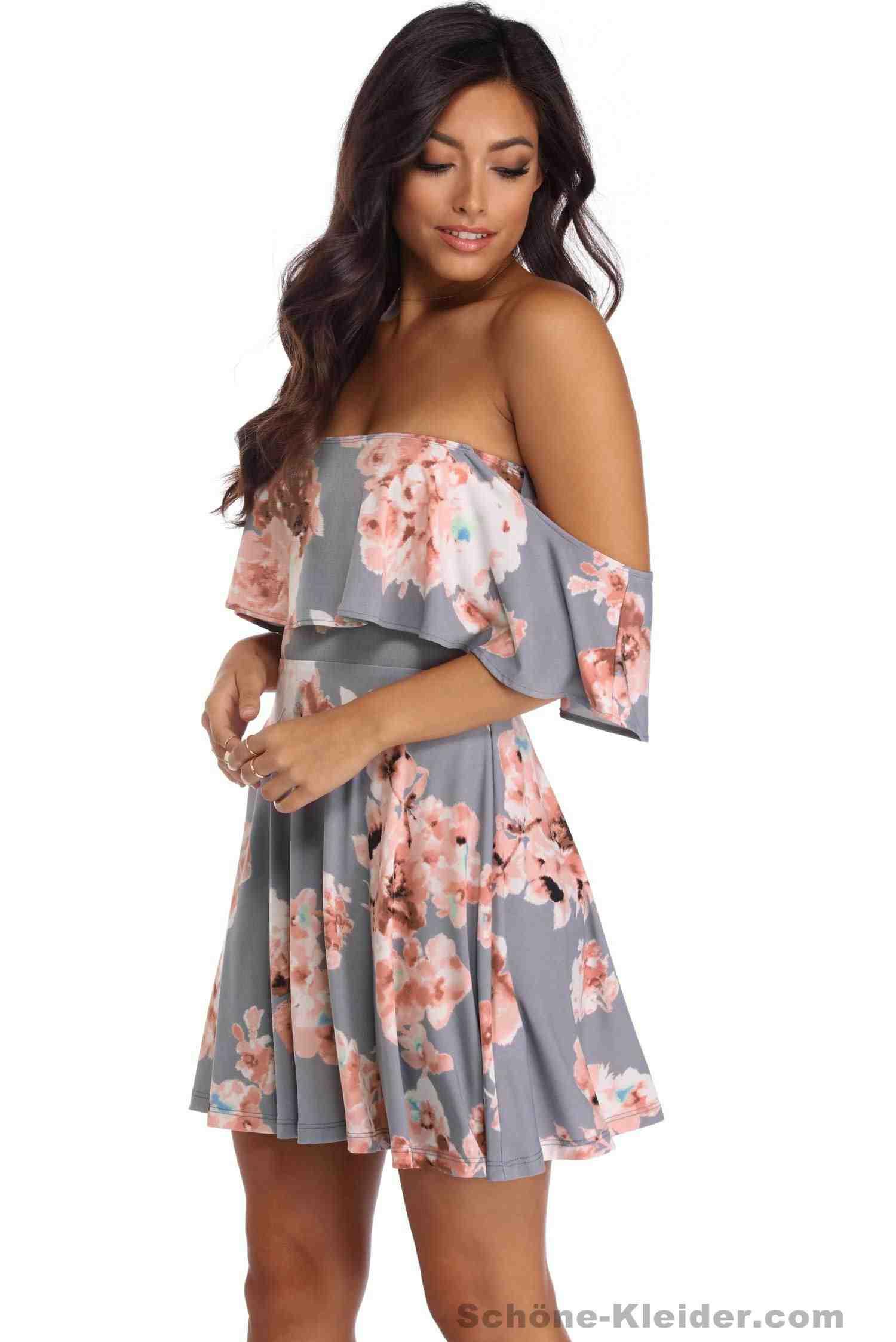 Wunderschöne Sommerkleider Kurz Für Damen 2018 Mode
