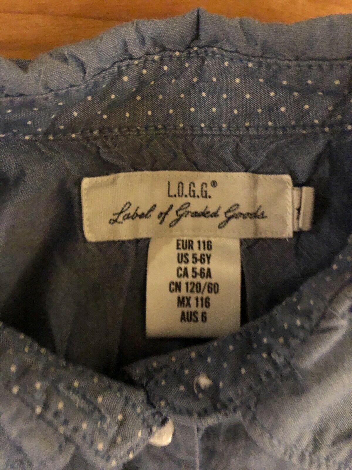 Wunderschönes Jeanskleid Gr 116 Hm Spitze Weihnachten