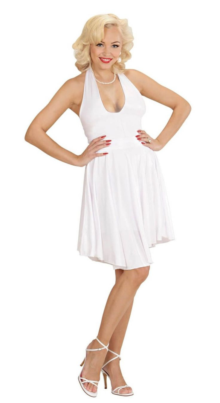 Wunderschönes Marilyn Kleid Weiß In 2020  Modestil