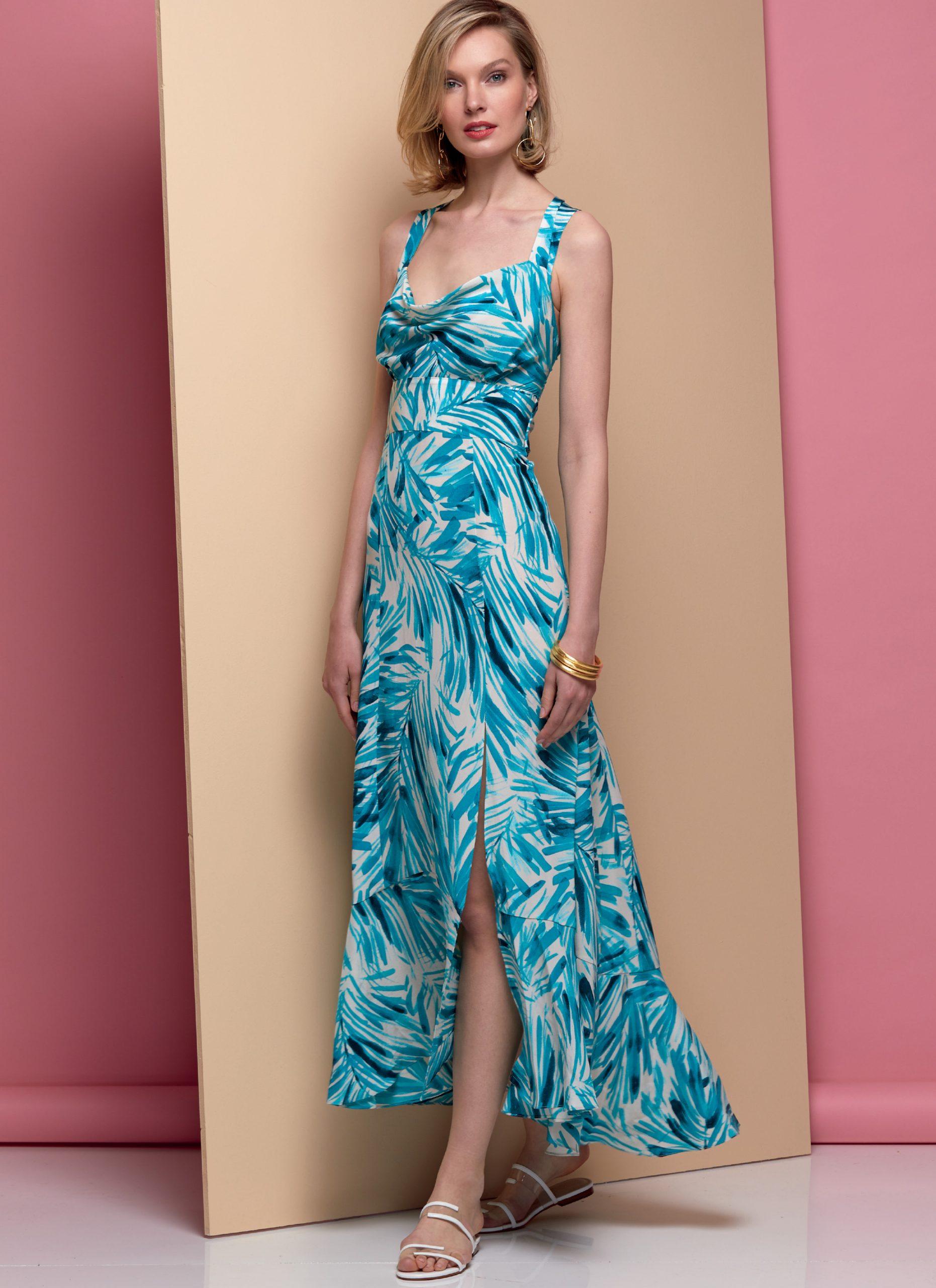 Wunderschönes Maxikleid  Kleider Designer  Kleider