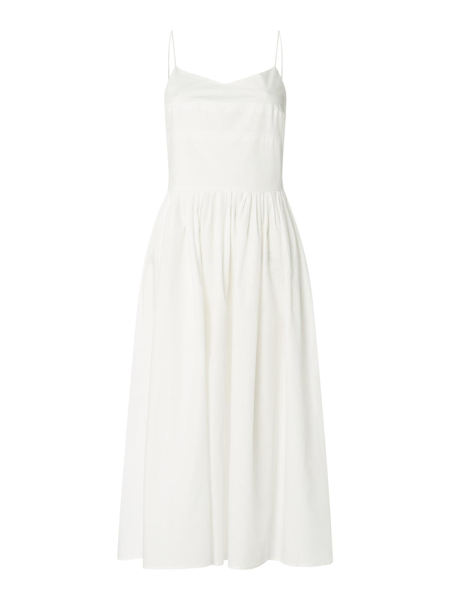 Yas Kleid Aus Biobaumwolle Modell 'Terra' In Weiß Online