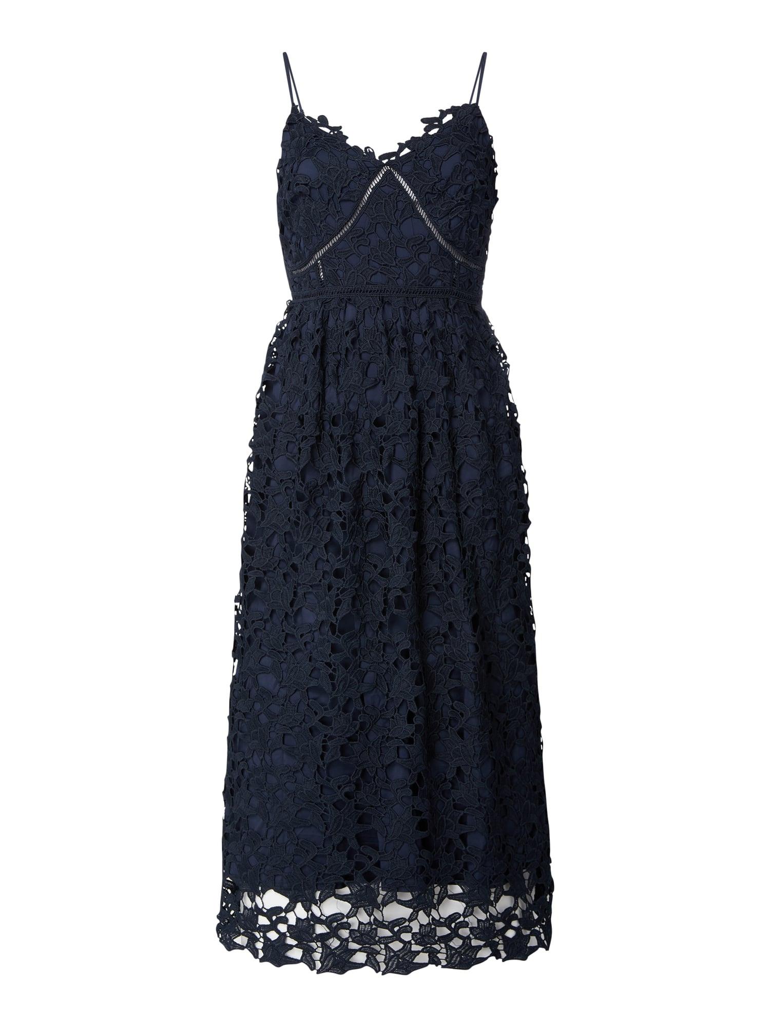 Yas Kleid Aus Floraler Spitze Modell 'Luie' In Blau