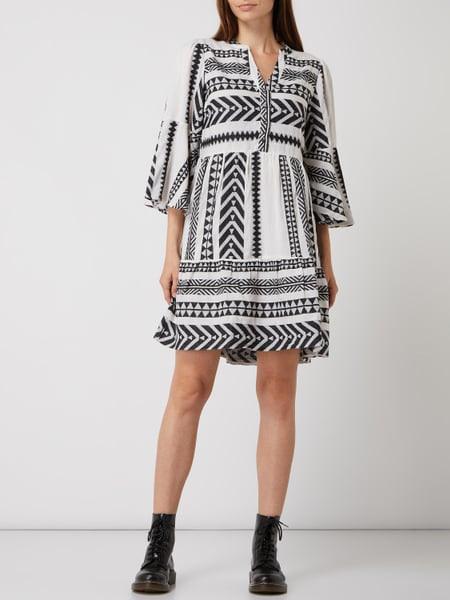 Yas Kleid Im Ethnolook Modell 'Rosa' In Weiß Online