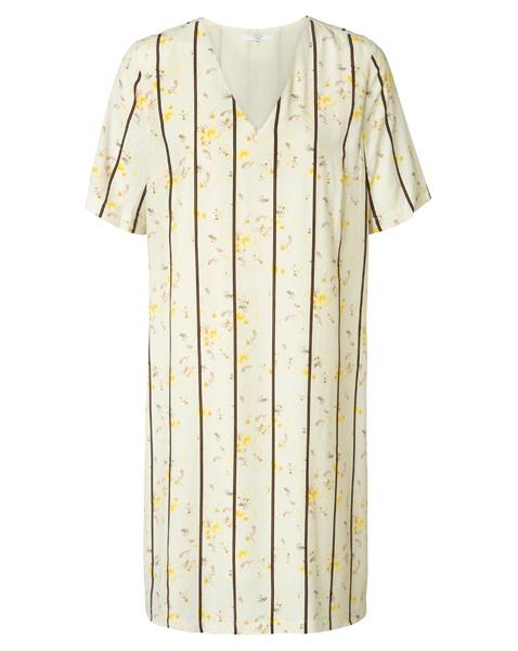 Yaya Damen Kleid Straight Dress With Flo