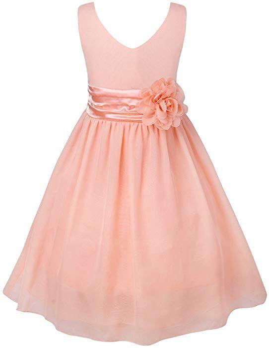 Yizyif Blumenmaedchenkleider Kinder Mädchen Prinzessin