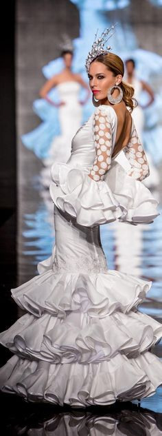 Yolanda Rivas Simof 2015  Trajes De Flamenco Vestidos