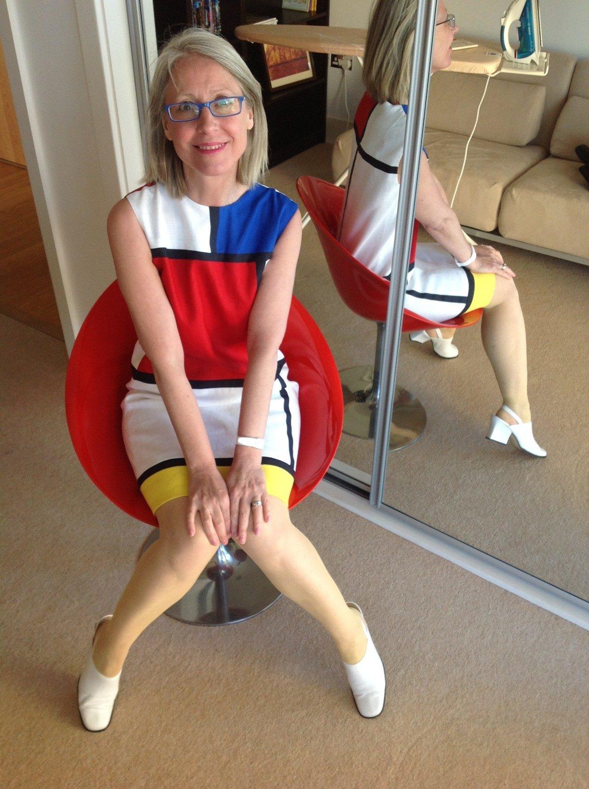 Ysl Mondrian Dress  Threads