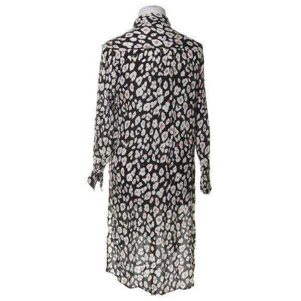 Zara Basic Blusenkleid Größe M Schwarz  Ebay