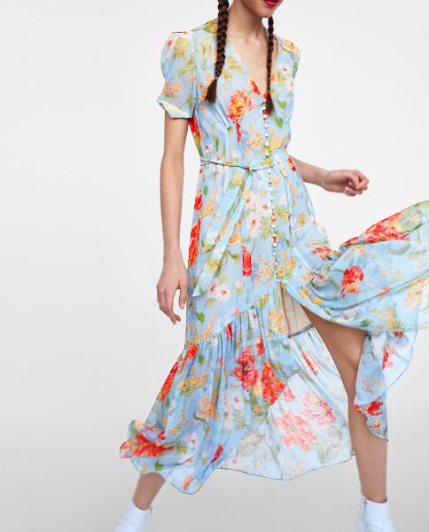Zara Dieses Luftige Sommerkleid Wollen Wir Jetzt Haben