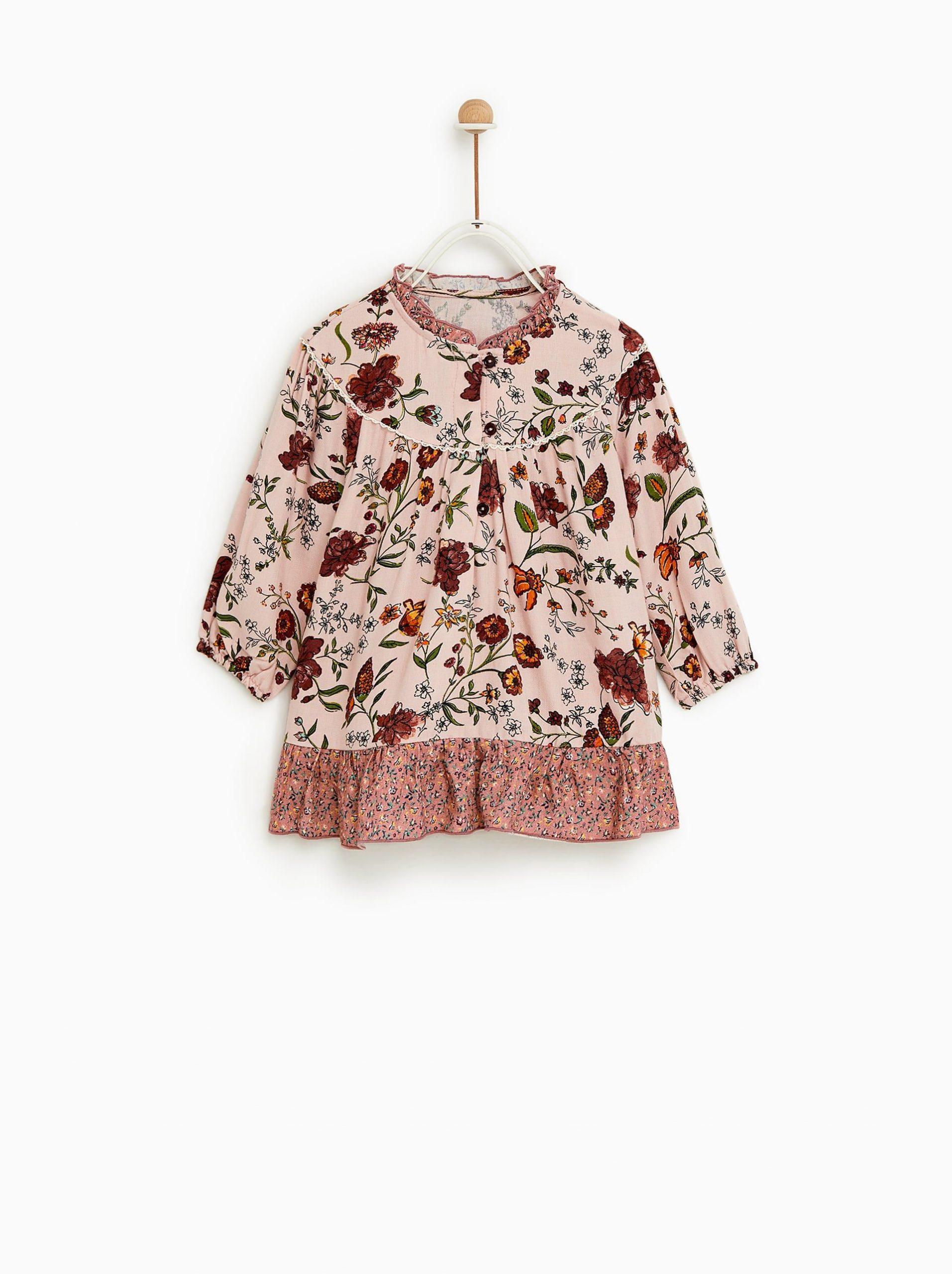 Zara  Kids  Floral Dress  Kinder Kleidung