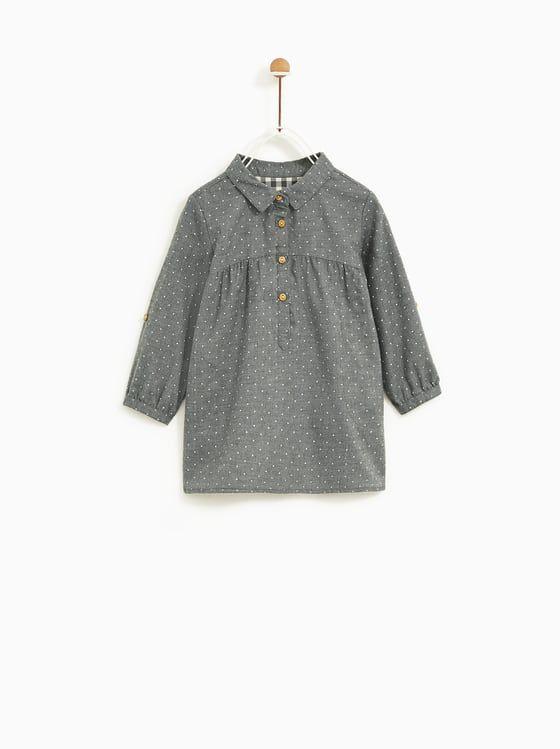 Zara  Kids  Printed Dress  Kleider Modische Mädchen
