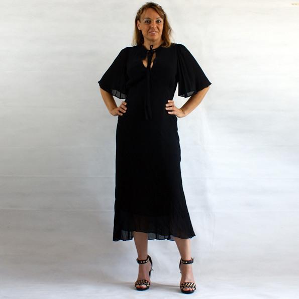 Zara Strickkleid Grau Mit Glanzeffekt