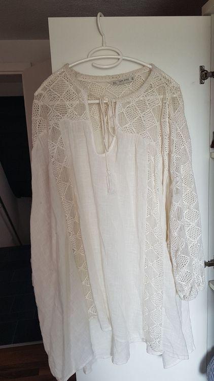 Zara Weisses Sommerkleid Kaufen Auf Ricardo