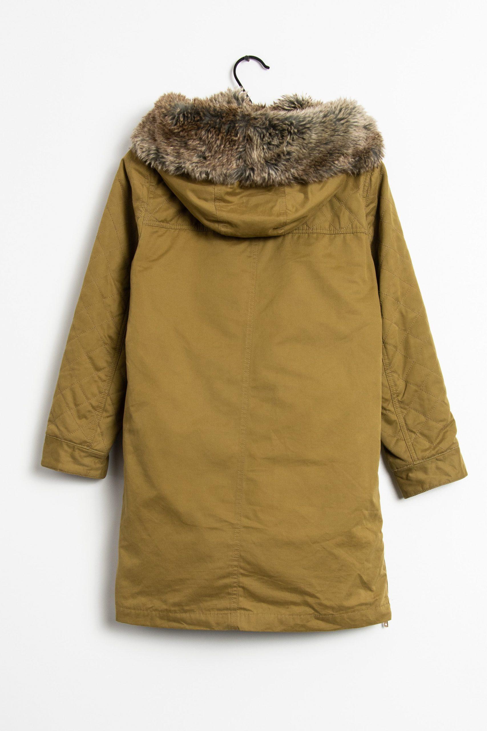 Zara Winterjacke Grün Grs  10051076