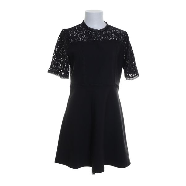 Zara Woman Kleid Größe L Schwarz  Ebay