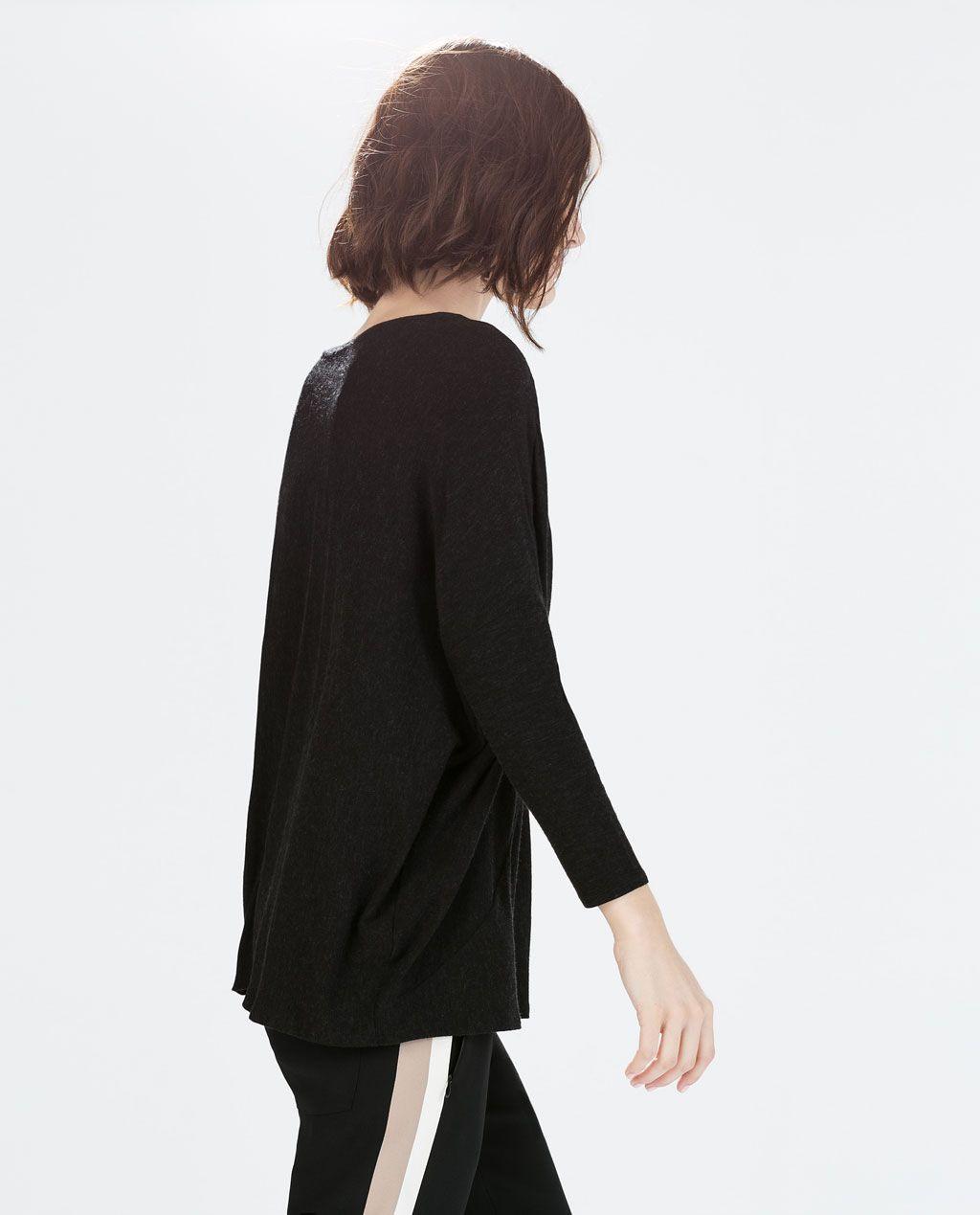 Zara  Woman  Loose Tshirt  Women Normcore