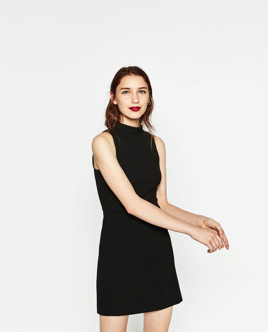Zara  Woman  Tube Dress  Schlauchkleid Kleider Frau
