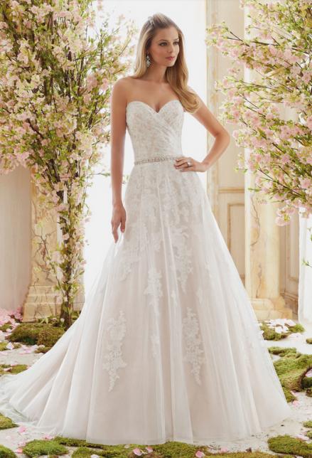 Zauberbraut Mit Bildern  Brautkleider Romantisch Kleid